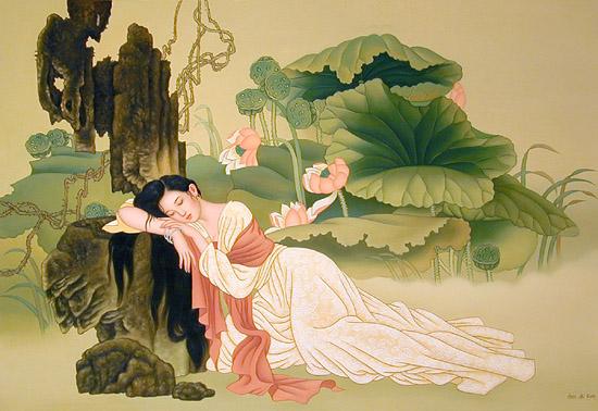 cam nhan bai tho tu tinh - MS36 - Cảm nhận về bài thơ Tự tình II của Hồ Xuân Hương