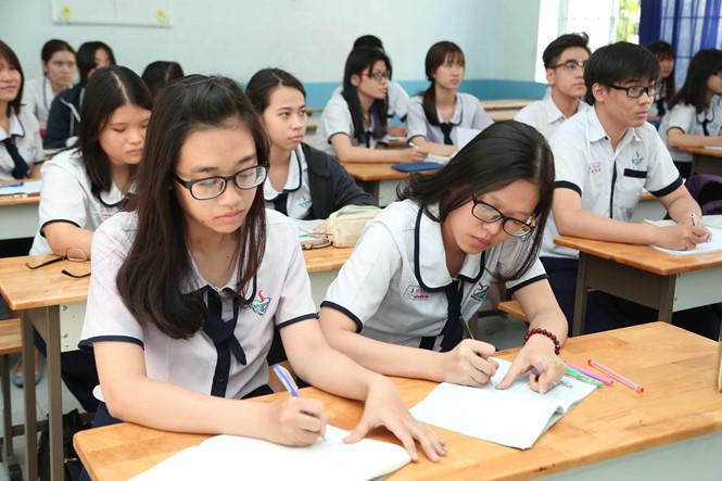 gio kiem tra ngu van - MS55 - Tả quang cảnh lớp học trong giờ kiểm tra môn Ngữ văn