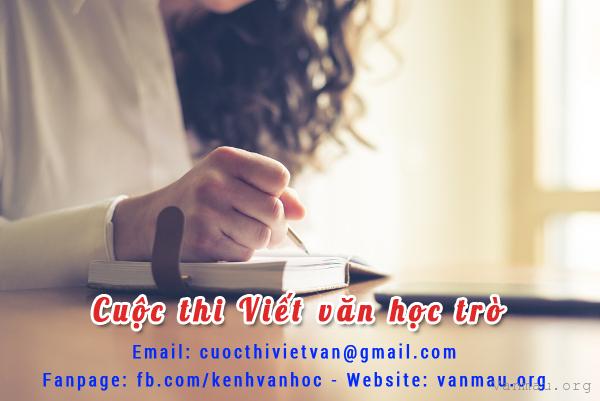 thong bao ket qua cuoc thi viet van hoc tro thang 092017 - Thông báo Kết quả cuộc thi Viết văn học trò tháng 09/2017