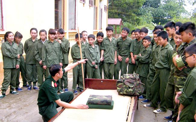 cuoc gap go anh bo doi - Kể về một cuộc gặp gỡ với các anh bộ đội nhân ngày thành lập Quân đội nhân dân Việt Nam