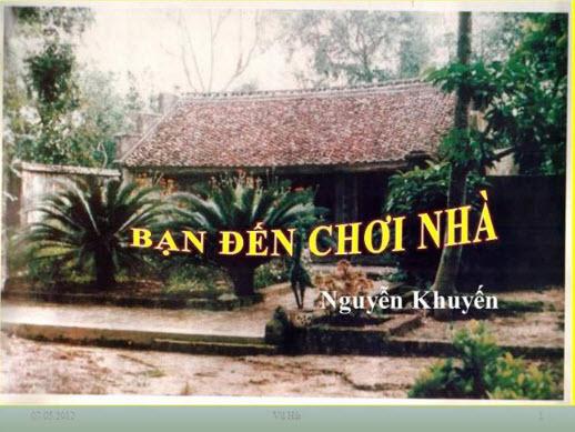 cam nghi ve bai tho ban den choi nha cua nguyen khuyen - Cảm nghĩ về bài thơ Bạn đến chơi nhà của Nguyễn Khuyến