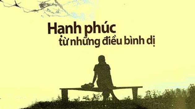 hanh phuc tu nhung dieu binh di - MS229 - Kể về một bài học sâu sắc và ý nghĩa mà cuộc sống đã tặng cho em