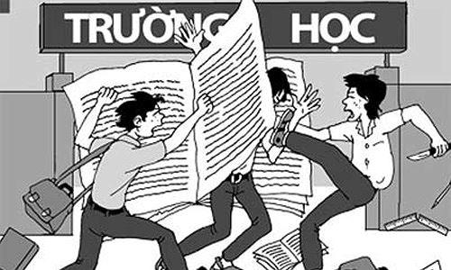Nghị luận xã hội về bạo lực học đường