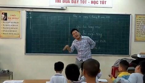 thay giao day nhac - MS202 - Kể về một thầy giáo hay cô giáo mà em quý mến