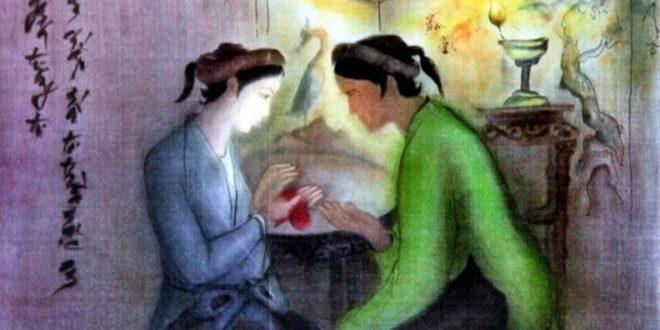 doan trich trao duyen - MS236 - Bi kịch mở màn cuộc đời Thúy Kiều qua đoạn trích Trao duyên của Nguyễn Du