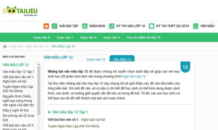 unnamed file 140 - Top 10 website những bài văn mẫu hay lớp 12 mới nhất